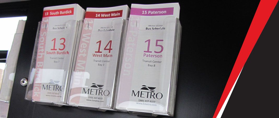 Metro bus routes and schedules