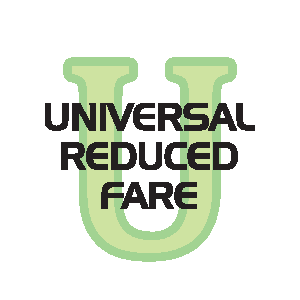 Universal Reduced Fare Logo